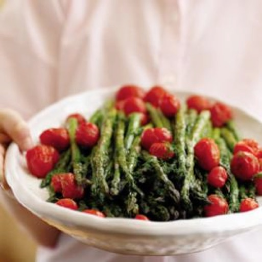 Roasted Asparagus Salad with Citrus Dressing